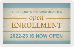 Enroll your child for Preschool by Janurary 26th